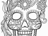 Day Of the Dead Skeleton Coloring Pages 10 Sugar Skull Day Of the Dead Coloringpages original Art Coloring