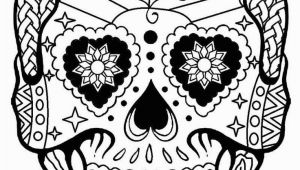 "Day Of the Dead Skeleton Coloring Pages 276 Best ¢Å"" Adult Colouring Sugar Skulls Day the Dead ¢Å"""