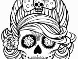 Day Of the Dead Skeleton Coloring Pages 466 Best Day the Dead Pinterest Free Sugar Skull