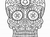 Day Of the Dead Skeleton Coloring Pages Coloring Pages Hearts with Ribbons Awesome Day the Dead Coloring
