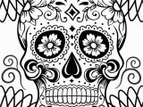 Day Of the Dead Skeleton Coloring Pages Day the Dead Skeleton Coloring Pages at Getcolorings