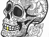 Day Of the Dead Skeleton Coloring Pages Day the Dead Skeleton Coloring Pages Inspirational Art therapy