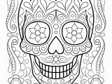Day Of the Dead Skeleton Coloring Pages Fresh Mexican Coloring Sheet Gallery