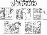 Days Of Creation Coloring Pages Creation Coloring Pages Printable Simple Creation to Color 6 Days