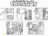 Days Of Creation Coloring Pages Days Creation Coloring Pages 1614