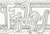 Days Of the Week Coloring Pages Days the Week Printable Coloring Pages Coloring Home