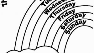 Days Of the Week Coloring Pages Enjoy Teaching English Days Of the Week Coloring Worksheets