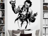 Dc Comics Wall Mural Us $10 26 Off Heath Ledger Joker Wall Sticker Ics Superhero Dc Marvel Vinyl Decal Home Interior Decoration Room Art Mural In Wall Stickers From