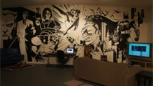Dc Comics Wall Murals Batman Wall Mural Art On Inspiration