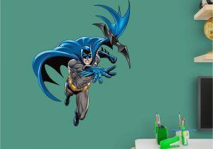 Dc Comics Wall Murals Fathead Batman In Action Junior Wall Decal 15