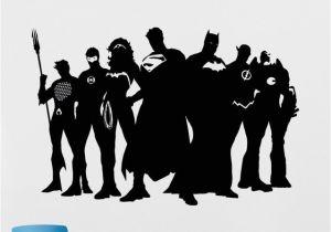 Dc Comics Wall Murals Kostenlos Versand Diy Superhelden Wandtattoo Wunder Dc Ics Vinyl