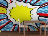 Dc Comics Wall Murals Pop Art Ic Book Wall Mural Lay & Kj Room