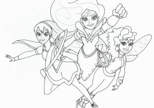 Dc Super Hero Girls Coloring Pages Free Printable Super Hero High Coloring Pages Dc Super