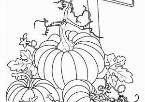 Decorate A Pumpkin Coloring Page Pumpkins Sign Of Pumpkins Garden Coloring Page