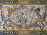 Decorative Wall Tiles Murals 17th Century Italian Tile Murals Spanish Tile Victorian