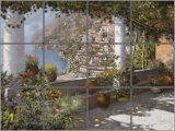 Decorative Wall Tiles Murals Positano Tile Mural Pacifica Tile Art Studio