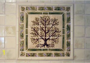 Decorative Wall Tiles Murals Tree Tile Mural somi Tileworks