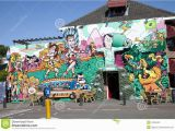 Deep Ellum Wall Murals Colorful Street Wall Painting Dutch soccer Players