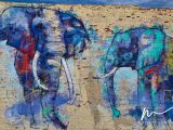 Deep Ellum Wall Murals Deep Ellumphants My Beautiful Texas