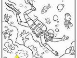 Deep Sea Diver Coloring Page 80 Best Coloring Pages Images On Pinterest