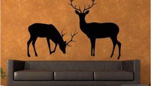 Deer Hunting Wall Murals Deer Wall Decal Deer Wall Decals Hunting Deer Stickers for