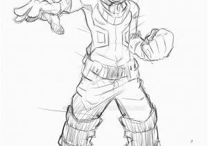 Deku My Hero Academia Coloring Pages My Hero Academia Deku Free Coloring Pages