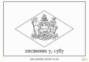 Delaware State Flag Coloring Page Ohio State Flag Coloring Page State Coloring Page Pages Buckeyes