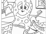 Dental Coloring Pages for toddlers Coloring Sheets