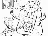 Dental Health Coloring Pages Preschool Preschool Dental Coloring Pages Valid Teeth Coloring Pages Preschool