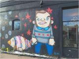 Denver Mural Artist their Outdoor Mural Features the Chicago City Flag On the Man S