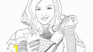 Descendants 3 Coloring Pages Printable Best Descendants Printable Coloring Pages
