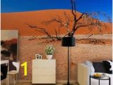 Desert Scene Wall Mural Home Decoration 3d Landscape Wallpaper Lavender Backdrop