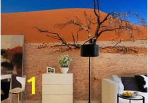 Desert Scene Wall Mural Home Decoration 3d Landscape Wallpaper Lavender Backdrop