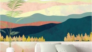 Design A Wall Mural Stunning Lake forest Wall Mural by Spacefrog Designs This