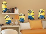 Despicable Me Wall Mural $12 99 Aud Minions Despicable Me 2 Removable Wall Stickers