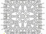Detailed Snowflake Coloring Pages Printable Coloring Pages for Adults Mandala Snowflake Pattern Pdf