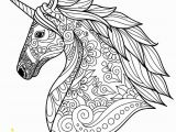 Detailed Unicorn Coloring Pages Detailed Unicorn Coloring Page Coloring Page Book