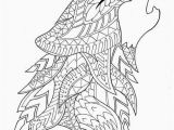 Detailed Wolf Coloring Pages for Adults Stunning Coloring Pages Wolf for Girls Picolour