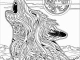 Detailed Wolf Coloring Pages for Adults Wolf Coloring Pages