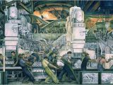 Detroit Industry Mural north Wall 10 Most Famous Works by Diego Rivera