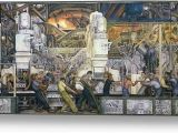 Detroit Industry Mural north Wall Detroit Industry north Wall Canvas Print Canvas Art by Die…
