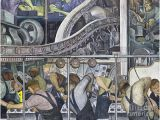 Detroit Industry Murals north Wall Diego Rivera Paintings