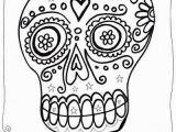 Dia De Muertos Coloring Pages Dia De Los Muertos Sugar Skull Coloring Pages for Kids