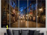 Diagon Alley Wall Mural Alley Wall Art