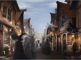 Diagon Alley Wall Mural Get It Here for $24 95