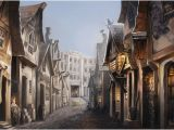 Diagon Alley Wall Mural This Post Talks About How Pottermore Acts as A