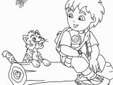 Diego and Baby Jaguar Coloring Pages 28 Go Diego Go Coloring Pages