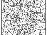 Difficult Color by Number Coloring Pages All Holiday Coloring Pages