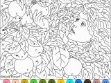 Difficult Color by Number Coloring Pages for Adults 20 Free Printable Hard Color by Number Pages for Adults