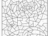 Difficult Color by Number Coloring Pages for Adults Coloring Pages Free Printable Color by Number Coloring